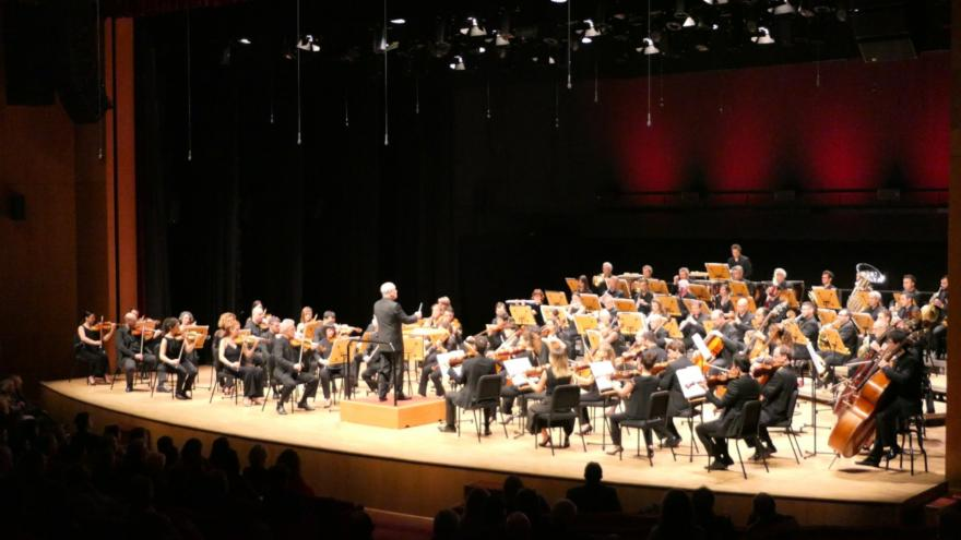 L'Orchestre symphonique d'Euskadi a brillé lors de sa première à Istanbul