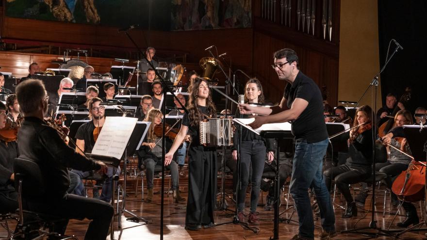 Huntza sinfonikoa Euskadiko Orkestrarekin eta Fernando Velazquezekin uda honetarako