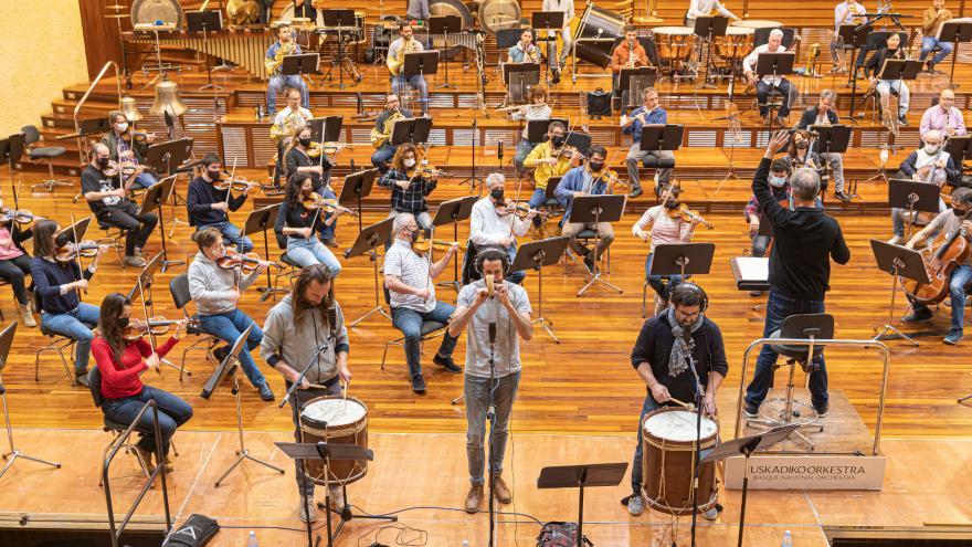 Le Basque National Orchestra et Kalakan s'unissent pour défendre la musique traditionnelle basque
