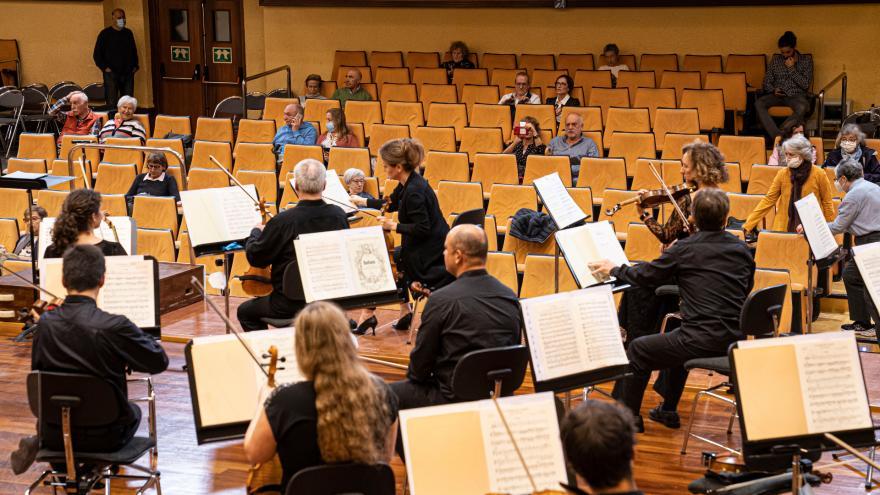 Se abre al público la grabación del último concierto de 'Euskadiko Orkestra martxan!'