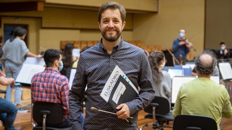 Jaume Santonja, nouveau directeur associé du Basque National Orchestra