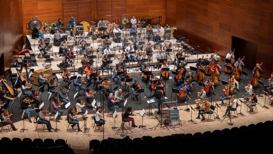 Euskadiko Orkestra et Robert Trevino enregistrent ensemble pour la première fois