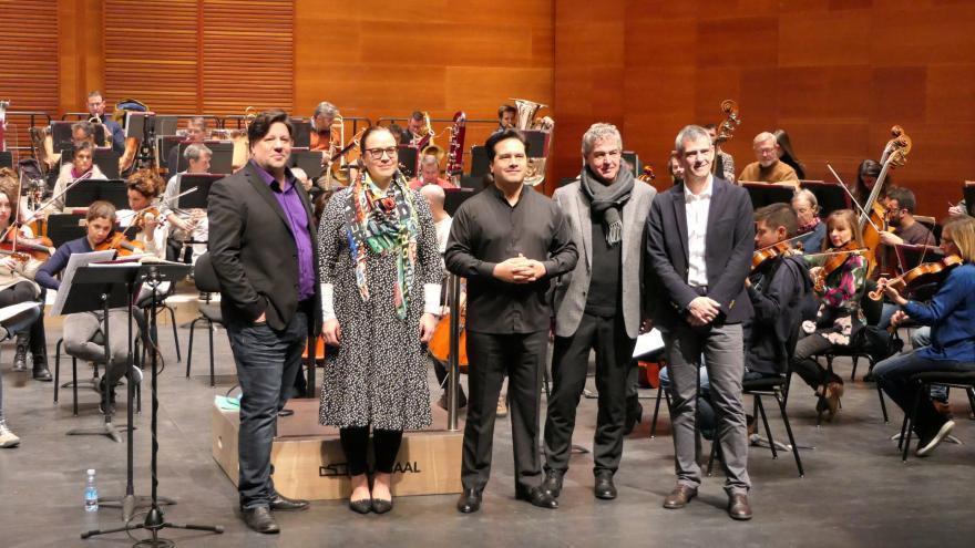 Paris et Istanbul : Double première internationale de l'Orchestre d'Euskadi en 2020